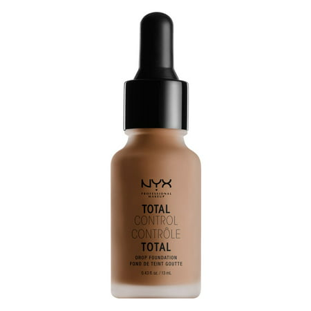 NYX Professional Makeup Total Control Drop Foundation, Nutmeg