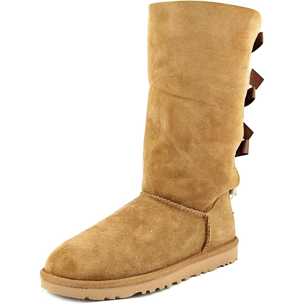 3095258af30 coupon code ugg tall bailey bow 1007308 chestnut boots 8dd3c febb9