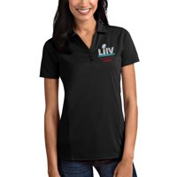 San Francisco 49ers Antigua Women's Super Bowl LIV Bound Tribute Polo - Black