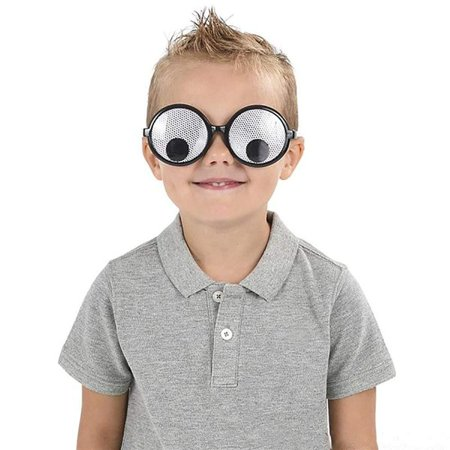 Googly Eye Glasses - 12 Pack Fashionable Unisex Shaking Eyes - Funny Gift Ideas, Costume Props, Cosplay, Event Favors, Class Rewards, Getaway Accessories for Kids and Adults Alike (Formal Cosplay Ideas)
