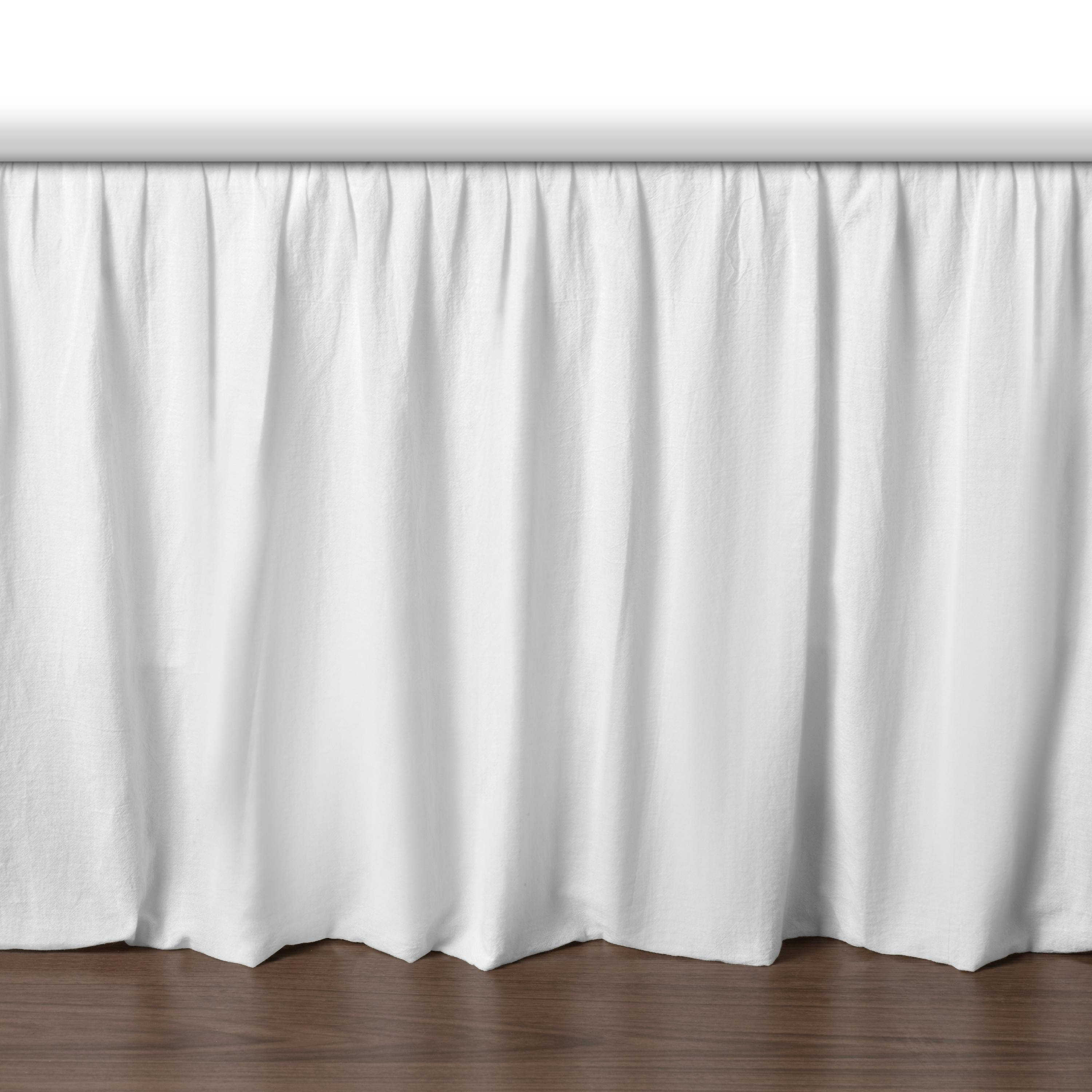HOTEL STYLE VOILE BEDSKIRT