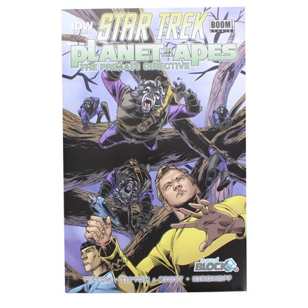 Star Trek Planet of the Apes The Primate Directive #1 Comic (Nerd Block Variant) for $<!---->