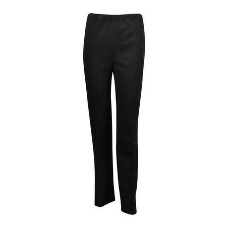 dde0b5130b8 Kasper - Kasper Women s Solid Elastic Waist Knit Pants - Walmart.com