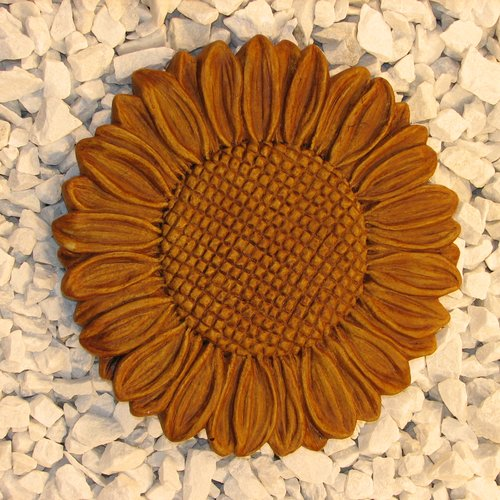 Nichols Bros. Stoneworks Sunflower Stepping Stone