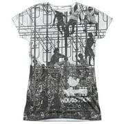 Woodstock - Stage - Juniors Cap Sleeve Shirt - XX-Large