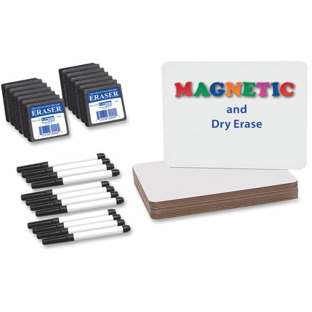 Student Dry Erase Boards - Flipside Magnetic Dry Erase Board Set Class Pack, 12 / Pack (Quantity)