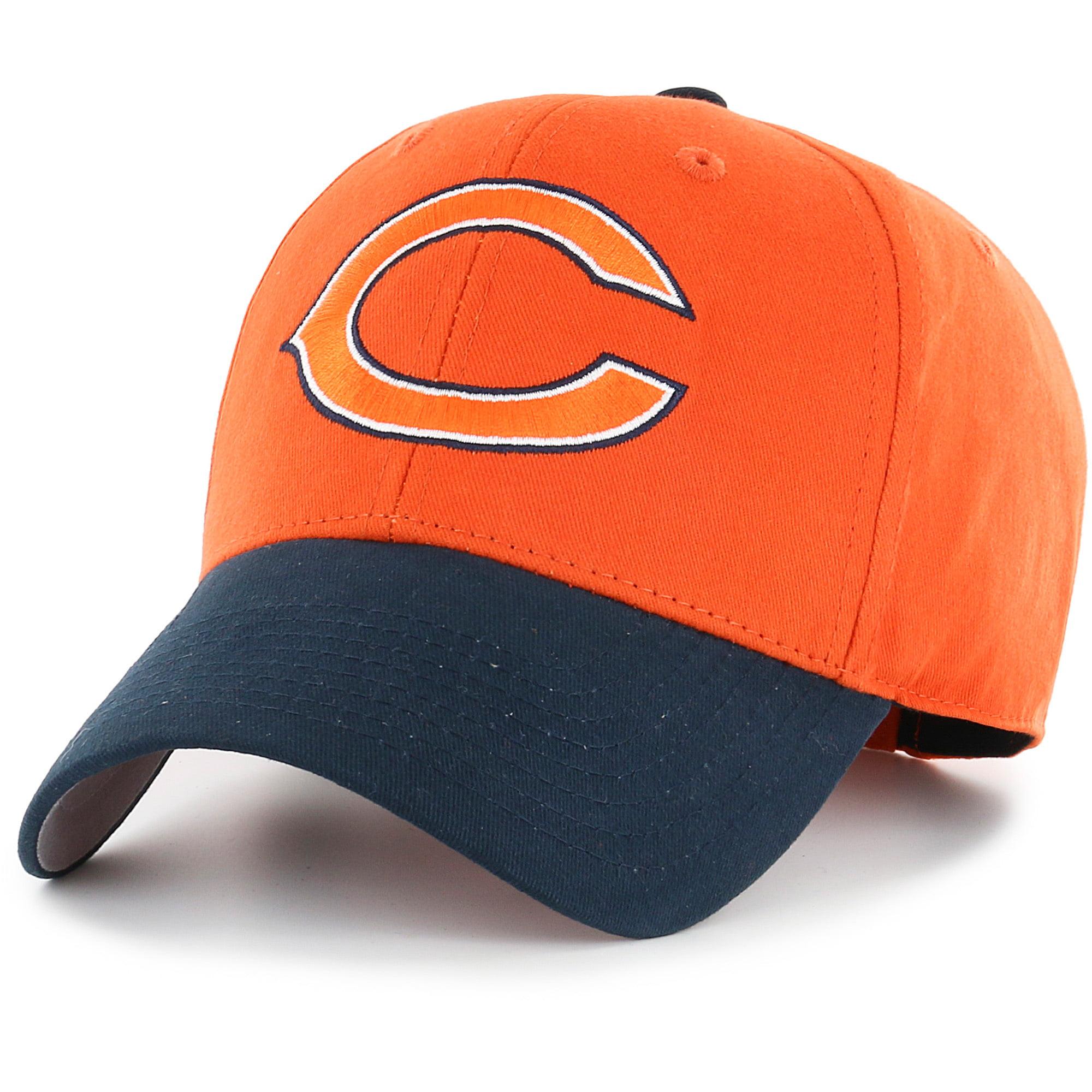 Men's Fan Favorite Orange/Navy Chicago Bears Two-Tone Adjustable Hat - OSFA