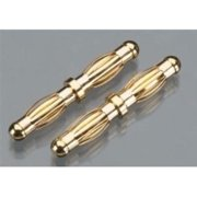 TrakPower DPS/VR-1 Double Gold Connector 4mm Male To Male TKPP5630