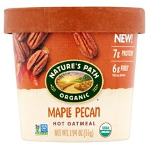 Oatmeal: Nature's Path Hot Oatmeal Cups