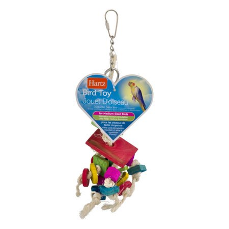 (3 Pack) Hartz Feather Frenzy Bird Toy