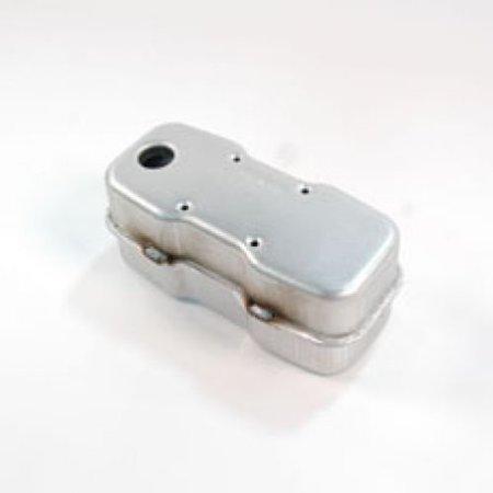 Mtd Mufflers (MTD Genuine OEM 951-0617C muffler- single inlet.  951-0617C replaces 751-0617, 751-0617A,)