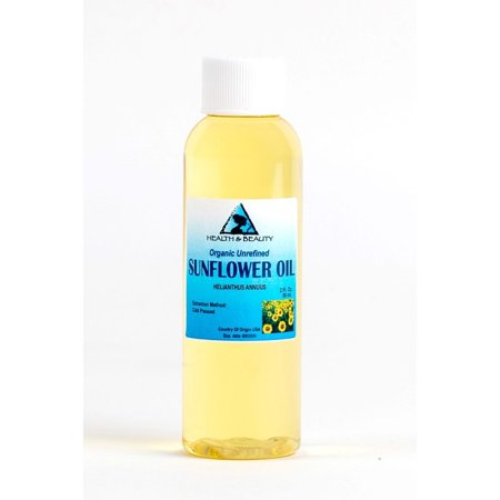 SUNFLOWER OIL UNREFINED ORGANIC CARRIER COLD PRESSED VIRGIN RAW PURE 2