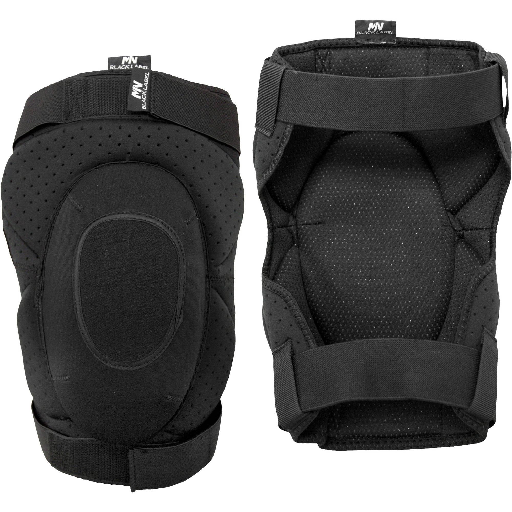 Rooster Products International McGuire-Nicholas Black Label Ortho Wrap Kneepads, 1BL-22410, Black