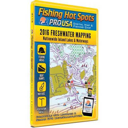 Fishing hot spots pro usa freshwater 2016 for Fishing hot spots