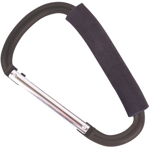 Oversized Carry Handle Carabiner, Black by Generic