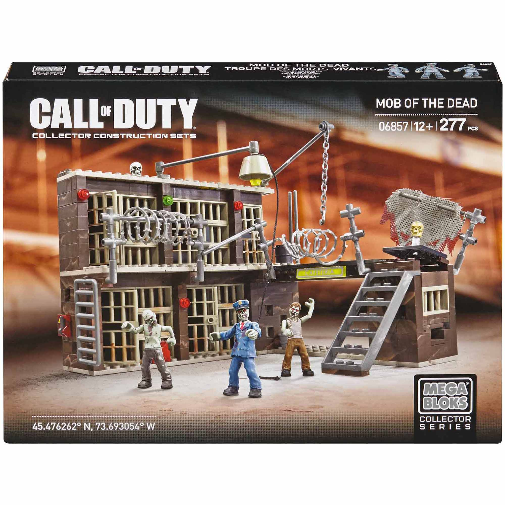 Mega Bloks Call Of Duty Mob of the Dead Alcatraz