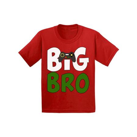 Awkward Styles Big Bro T-shirt Video Game Toddler Shirt Big Brother Tee Kids Shirt