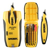 Sperry Instruments ET64220 Lan WireTracker Tone and Probe Wire Tracer, Identifies Coax, CAT 5, Speaker, Phone, any Non-Energized Wire
