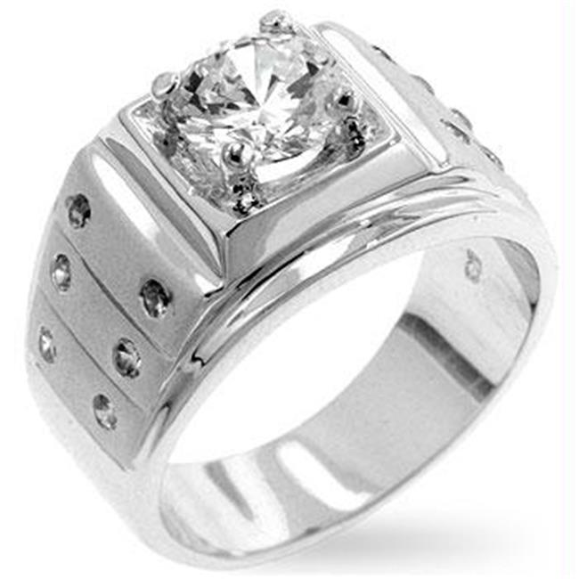 Iron Man CZ Ring, <b>Size :</b> 10