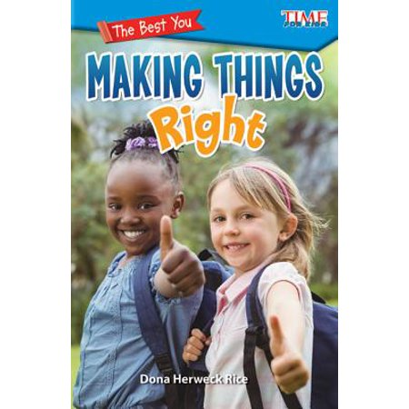 The Best You : Making Things Right (Level 2)