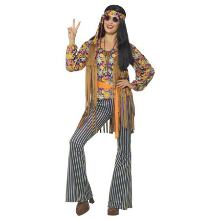 60s Hippie Singer Adult Costume - Small