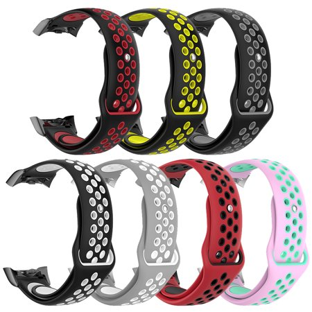 Soft Silicone Replacement Watch Band Classic Sport Strap for Samsung Gear Fit2 SM-R360 / SM-R350 / Gear Fit2 PRO Smart Bracelet