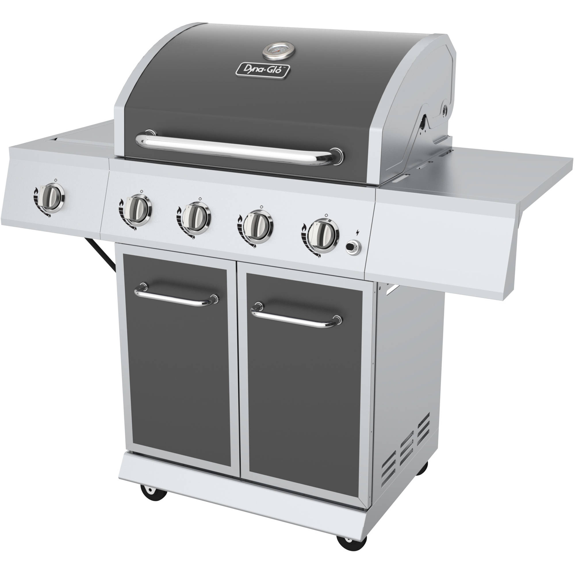 Dyna-Glo DGE486GSP-D 4-Burner Gunmetal LP Gas Grill by GHP Group, Inc.