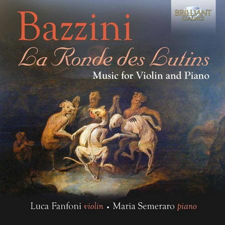 Bazzini: La Ronde Des Lutins - Music for Violin and Piano](Violin Halloween Music)