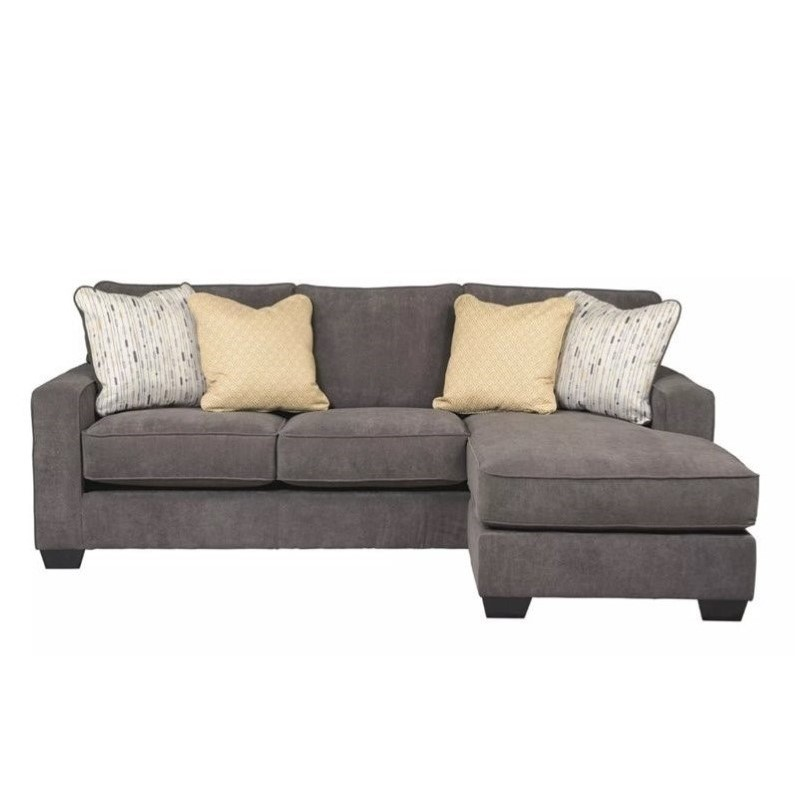 Ashley Furniture Hodan Fabric 2 Piece Sectional in Marble  sc 1 st  Walmart : ashley furniture small sectional - Sectionals, Sofas & Couches