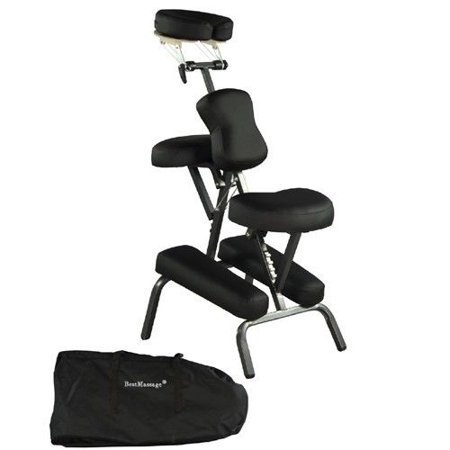"BestMassage 4"" Portable Massage Chair Tattoo Spa Free Carry Case 8B"