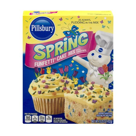 Pillsbury Spring Cake Mix