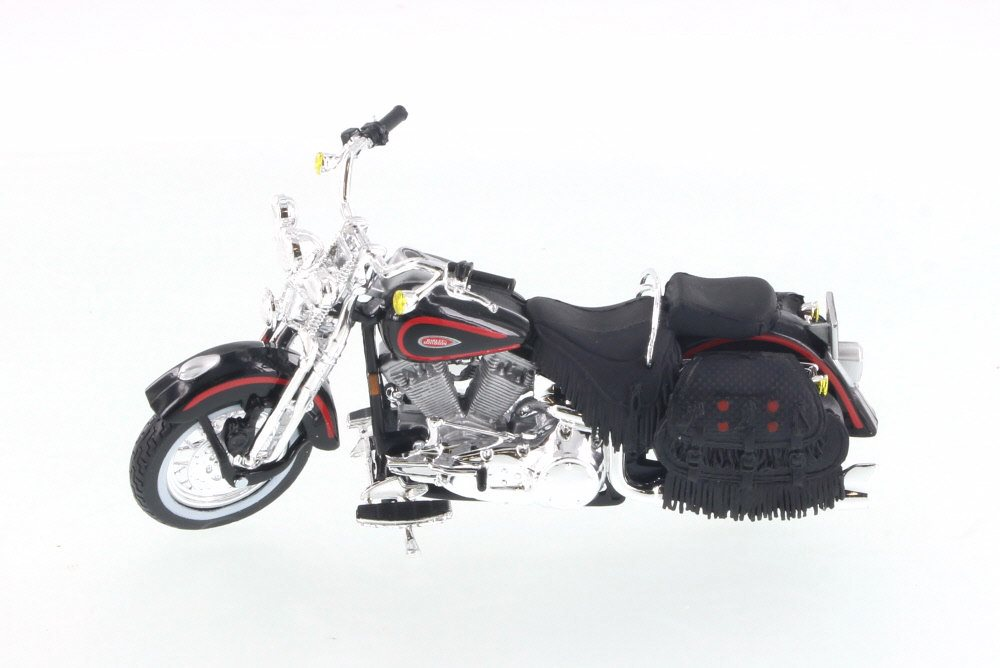 1998 Harley Davidson FLSTS Heritage Springer, Black Maisto 31360 31 1 18 Scale Diecast... by Mercury