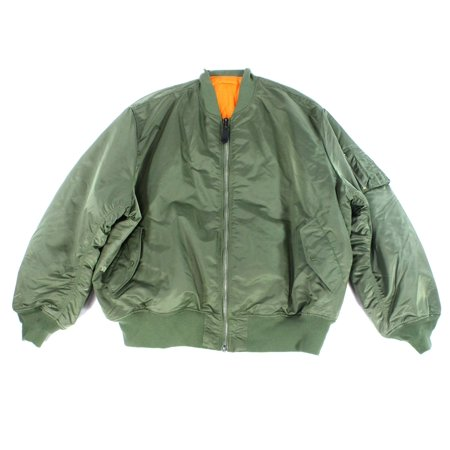 sports shoes 7cd54 7f84c Alpha Industries NEW Olive Green Mens Size 5XL Flight/Bomber Jacket