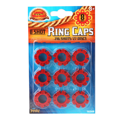 Legends 216 Shot Ring Caps