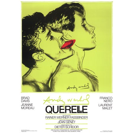 ANDY WARHOL Querelle Green 39