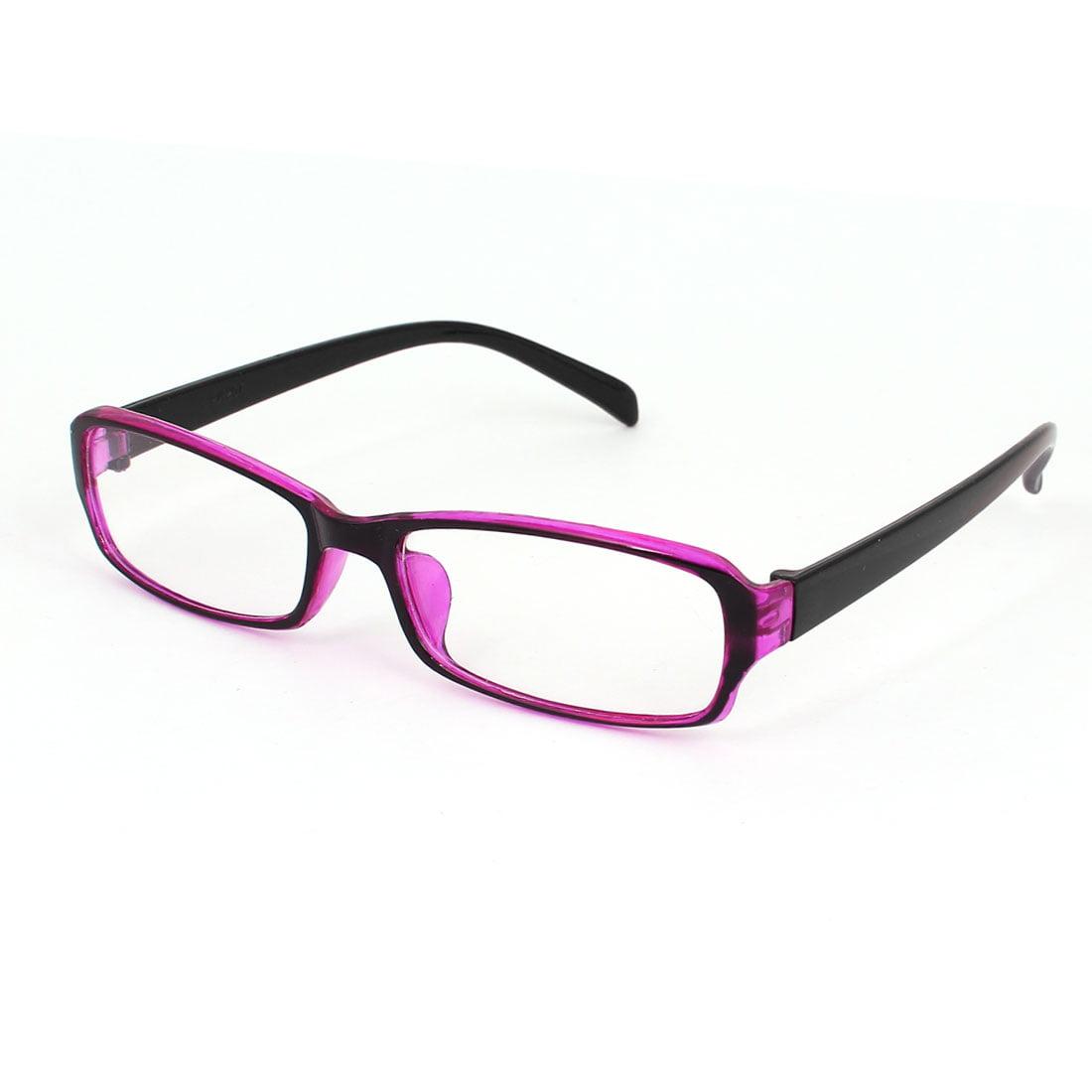 Plastic Material Women Clear Lens Eyewear Plain Glasses Frame