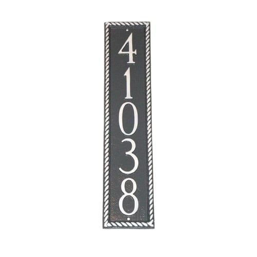 Montague Metal Products Inc. Franklin Column Address Plaque