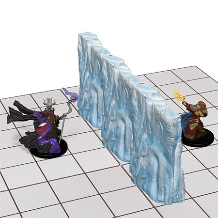 Wizkids Dungeons & Dragons - Spell Effects: Wall of Fire & Wall of Ice Figures](Dungeon Wall)