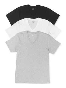 Calvin Klein Men's Cotton Classic V-Neck T-Shirt (3-Pack)