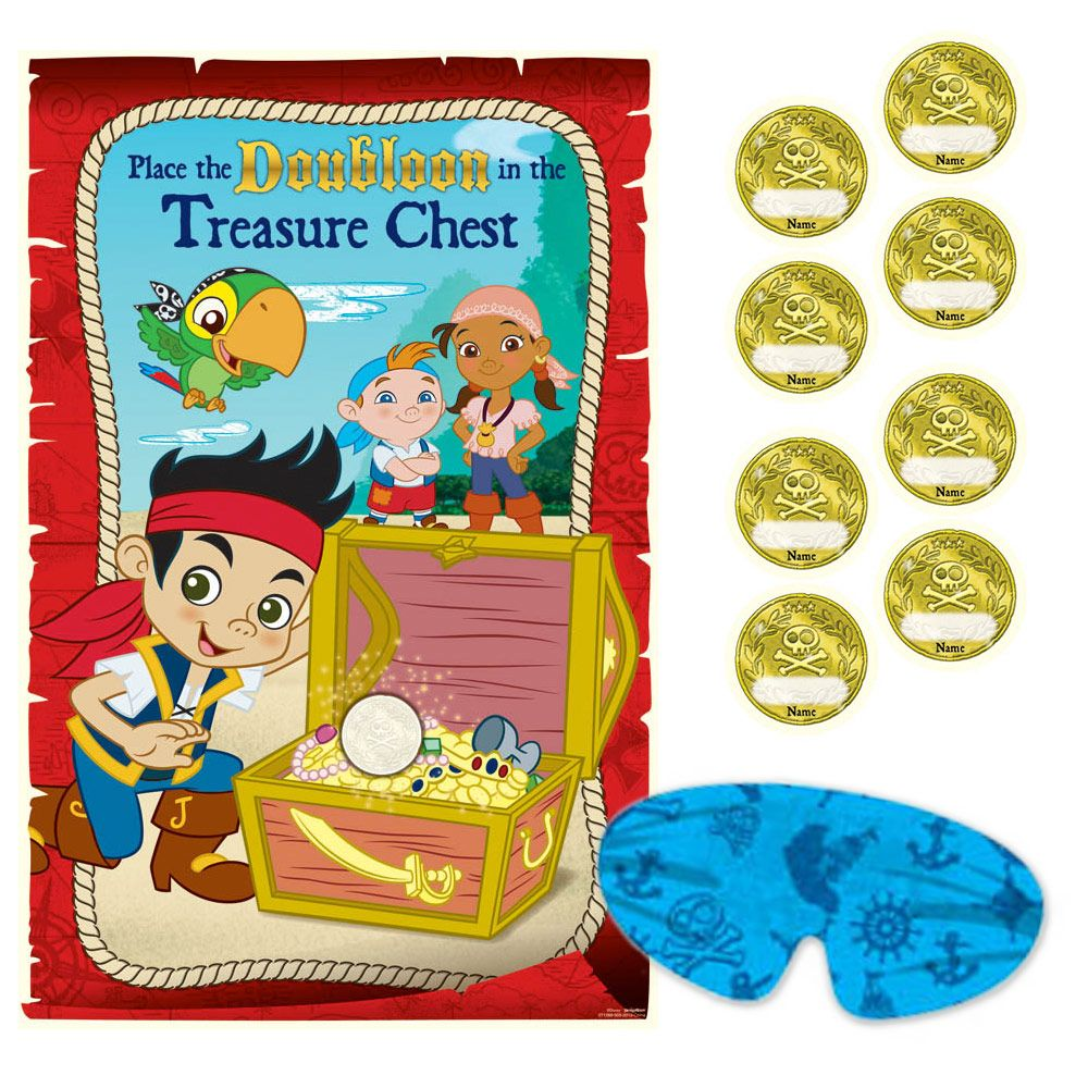 Jake And The Neverland Pirates Party Game Kit - Party Supplies