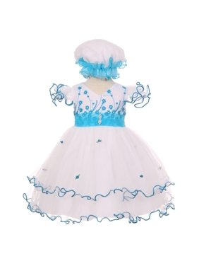 0a5a892971d3 Blue Shanil Inc. Baby Girls Dresses - Walmart.com