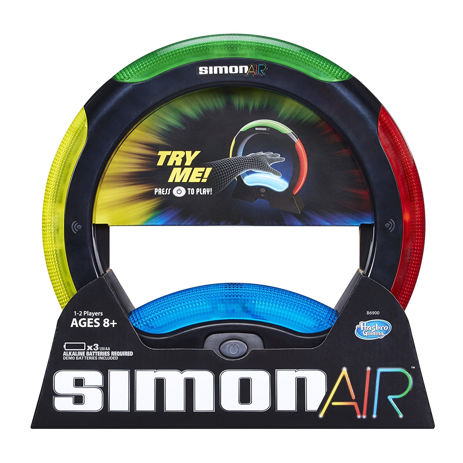 Simon Air GameGame unit senses player's motions By Hasbro by