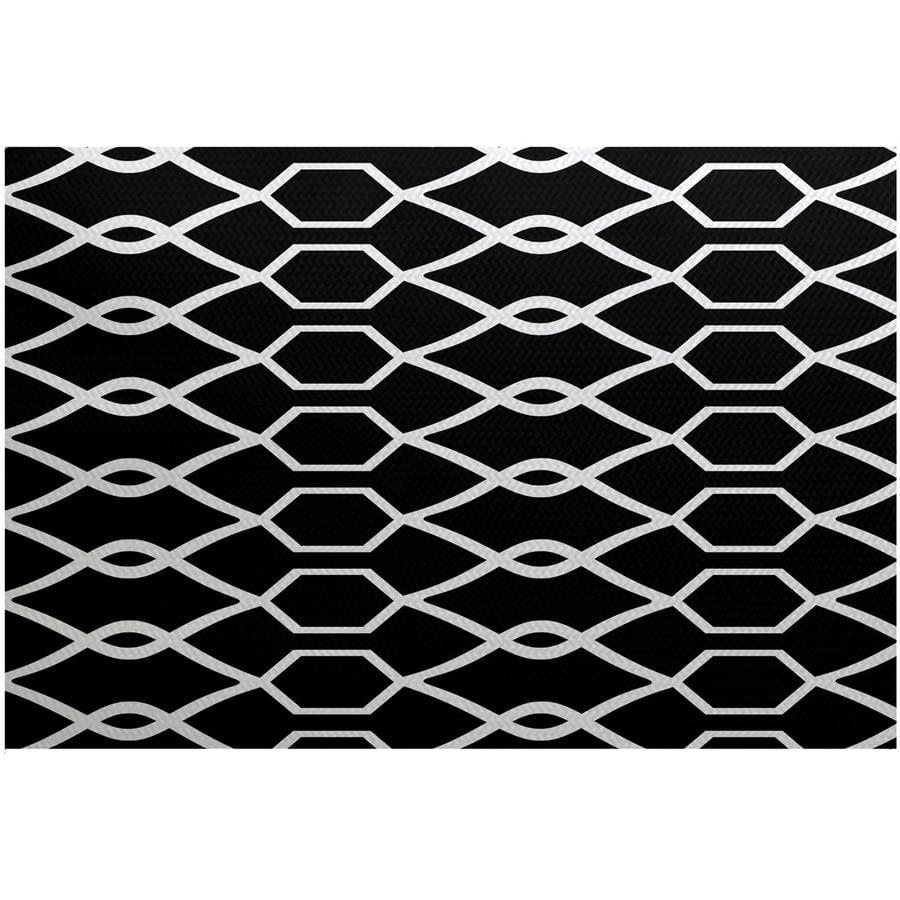 Simply Daisy 3' x 5' Charleston Geometric Print Indoor Rug