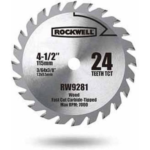Rockwell Compact Circular Saw 4.5-Inch Tct Blade