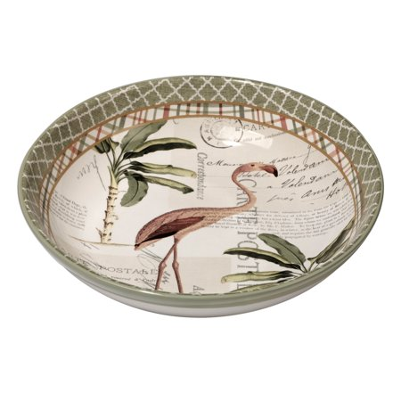 Certified International  Floridian Ceramic 13.25-inch x 3-inch Serving/Pasta Bowl Certified International Ceramic Bowls