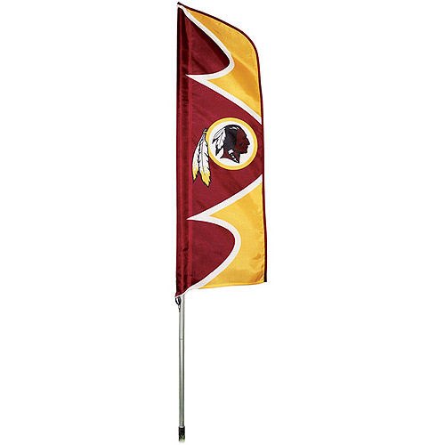 "NFL Washington Redskins 42"" x 13"" Swooper Flag and 6' Pole"