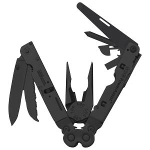 SOG PowerAssist EOD Multi Tool Black Oxide with Nylon Sheath