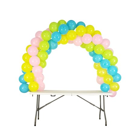 Small 5 feet high 8 feet wide Balloon Arch for Weddings, Birthdays, Sweet 16 and Many Different - Sweet 16 Birthday Balloons