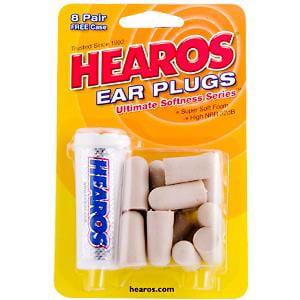 Hearos Ultimate Softness Series Ear Plugs, #2210 - 8 Pair