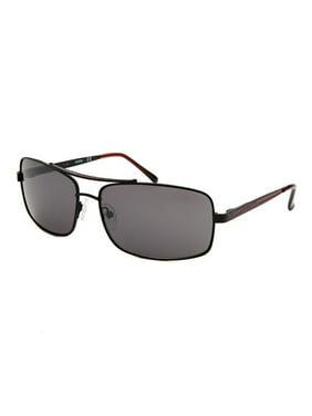 18511dd334 Product Image Gu6710-C44-62 Men s Rectangle Metal Black Sunglasses. GUESS